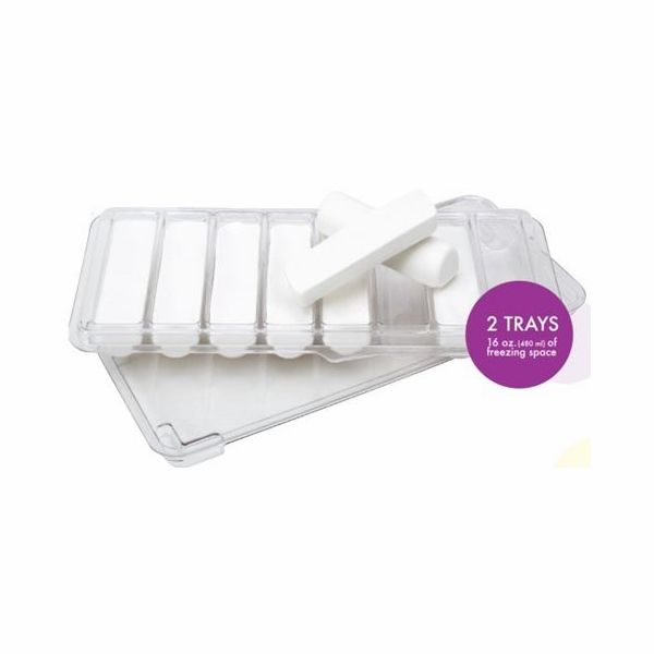 Milk Trays allow you to freeze breast milk into convenient, 1-ounce sticks that fit into all bottle sizes!