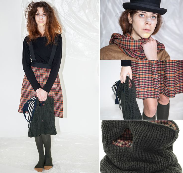 CHECK DETAILS  #midi #skirt #knit #handbag #woman #fw1415 #CucuLab  Available now www.cuculab.it
