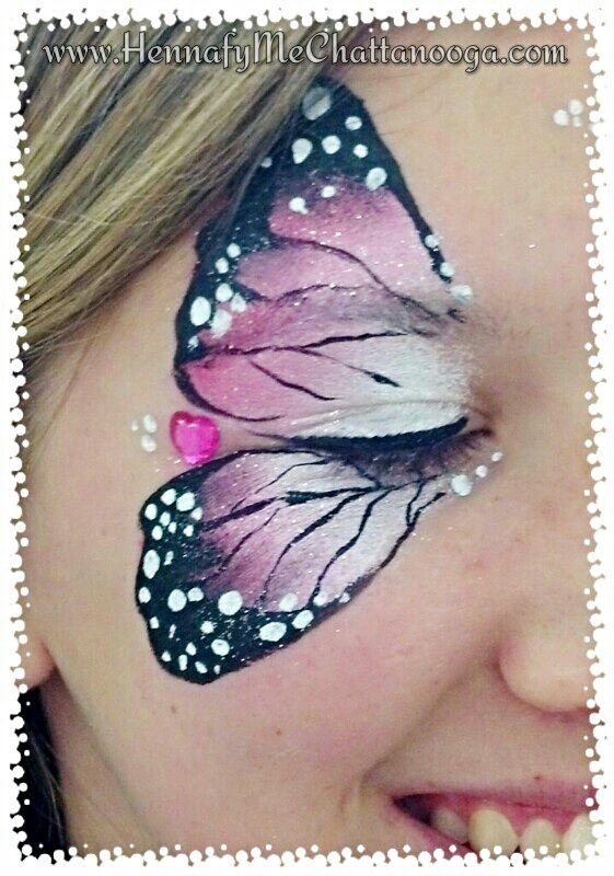 media mariposa sencilla y linda