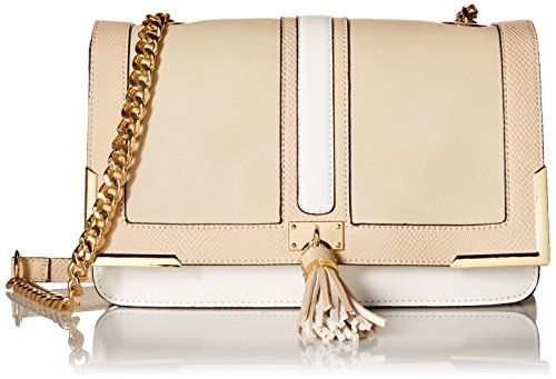 Women's Cross-Body Handbags - Aldo System Crossbody White Miscellaneous ** You can get more details by clicking on the image.