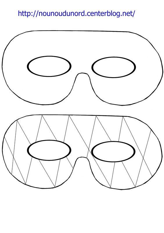 17 best ideas about masque a imprimer on pinterest - Masque de carnaval a imprimer ...