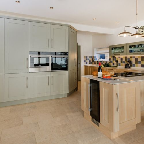 Best Farrow And Ball Mizzle Kitchen Design Ideas Renovations 640 x 480