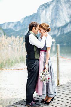 SABINE & HANNES   TRACHTEN HOCHZEIT IN ALTAUSEE - Carolin Anne Fotografie - Wedding Photographer from Linz, Austria