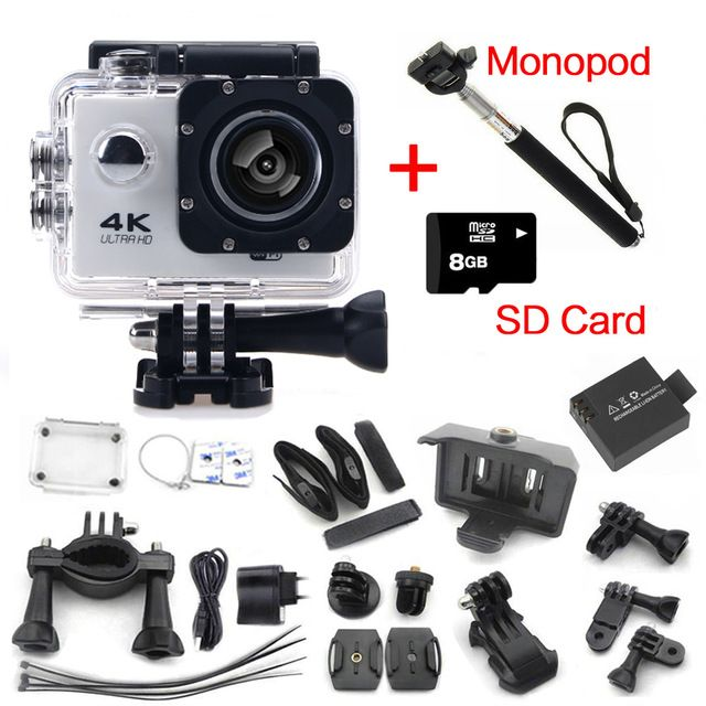 Oringal Action Camera 4K F60 wifi Sports extreme Mini Cam Recorder Marine Diving go pro sports camera gopro hero 4 style US $55.50  Click link to buy other product http://goo.gl/K0keet