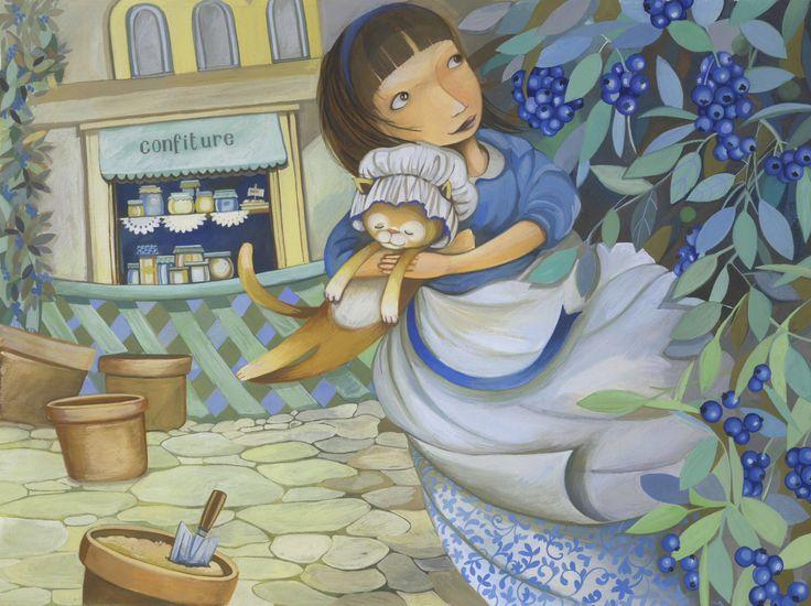 Arte para niños, Decoración, Descarga instantánea, Ilustración a mano, Habitación de niñas de VaradiIlustration en Etsy https://www.etsy.com/es/listing/520425445/arte-para-ninos-decoracion-descarga