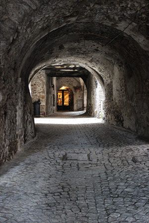 Abruzzo Goes Sustainable. Read about Sextantio, a unique cultural heritage and sustainable tourism project in Santo Stefano di Sessanio, Abruzzo.