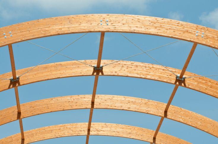 Laminated Wood Structures ~ Glue laminated construction 集成材 pinterest columns
