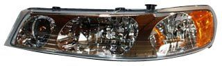 TYC 20-6086-00 Lincoln Town Car Driver Side Headlight Assembly Meets or exceeds DOT/SAE standards, with particular consideration for photometric and safety compliance. Special coating on the lens surface prevents hazing and fading, ensuring proper illumination and operational safety. Rigorous and accelerated cycling tests to ensure product service quality and durability. OE-comparable mounting pro... #TYC #Automotive_Parts_and_Accessories