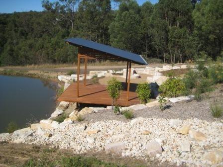 Dam landscaping Brisbane
