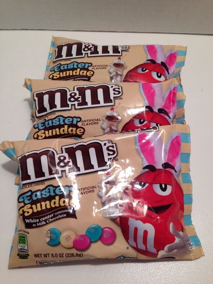 48 best mms collection for sale images on pinterest chocolates m ms easter sundae white center milk chocolate candy x 3 bags 8 0 oz 226 negle Images