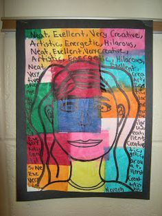 The 5 th  grade students watched a video showing many different examples of Paul Klee's art work.  Students had to write at least five de...