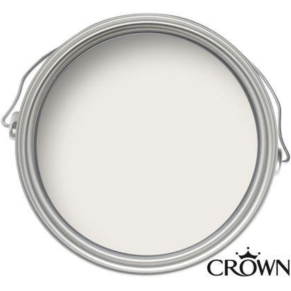 Crown Sail White - Matt Emulsion Paint - 2.5L