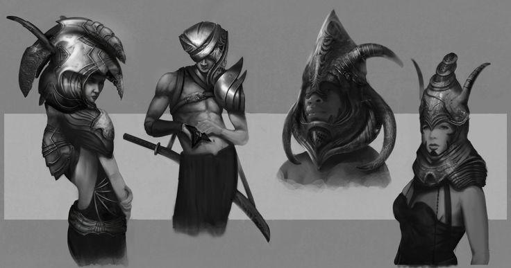 Armor Studies, Simone Lagonigro on ArtStation at https://www.artstation.com/artwork/armor-studies-97111ba8-f43a-454b-8305-a9a7e12e8bbd