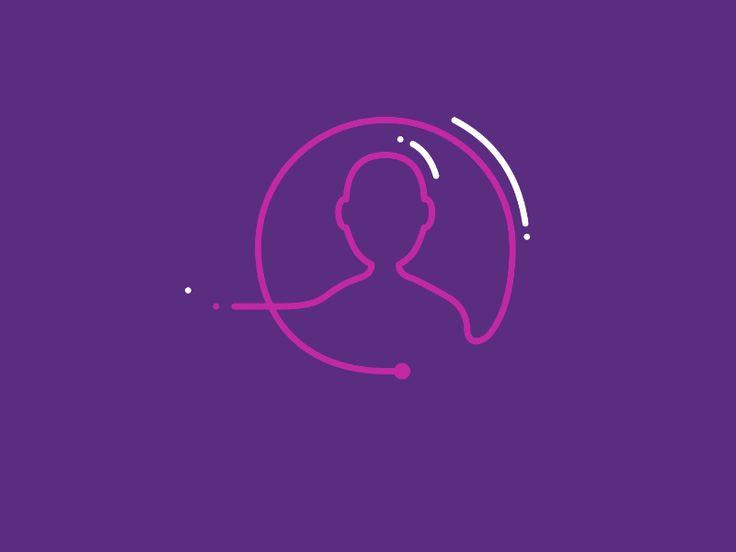 Customer Search | Motion | Graphics | Gif | Animated | Animado |