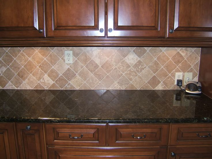 Backsplash Ideas For Ubatuba Countertop | ... Countertops And Cabinets,  With A Medium