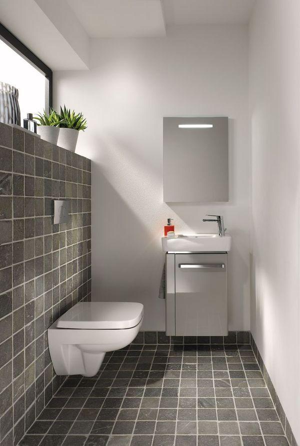 Inrichting van een kleine badkamer my loft bathroom pinterest loft bathroom and lofts - Kleine betegelde badkamer ...