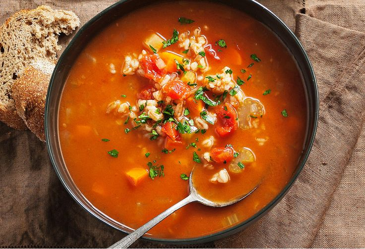 This hearty slow-cooker soup will keep you warm on the coldest of days.