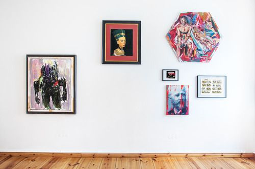 Installation View, N#2.  Visit our current exhibition Take A Walk On The Wild Side. To Russia with Love. And to Lou Reed. (It is extended until 22 Feb 2014!) We are looking forward to see you at Egbert Baqué Contemporary Art, Berlin!