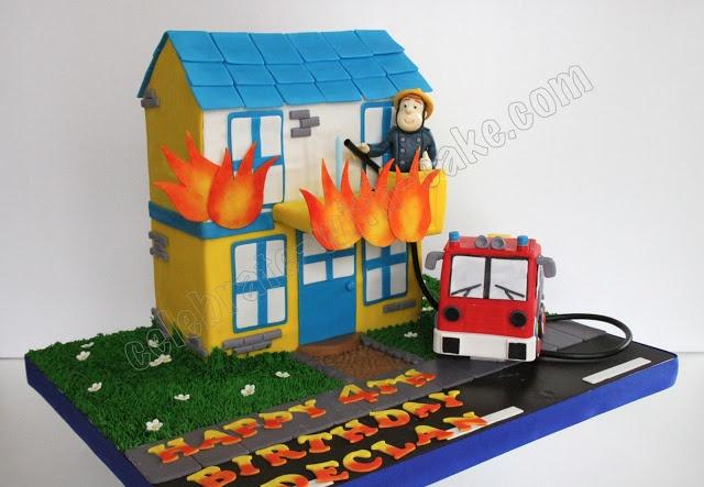 Celebrate with Cake!: Fireman Sam Cake
