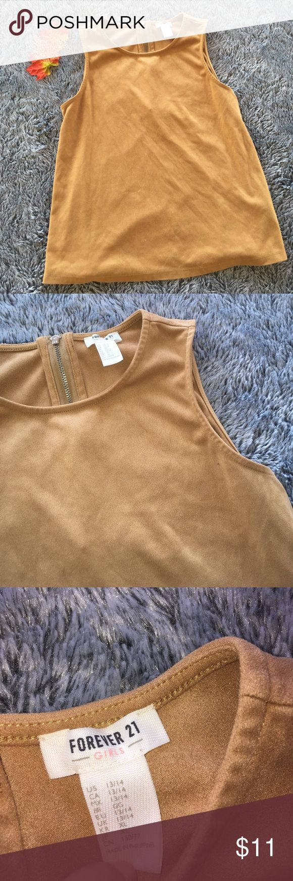 Fall Tops Forever. 21 Girls top perfect for the fall and is in perfect condition. Forever 21 Tops