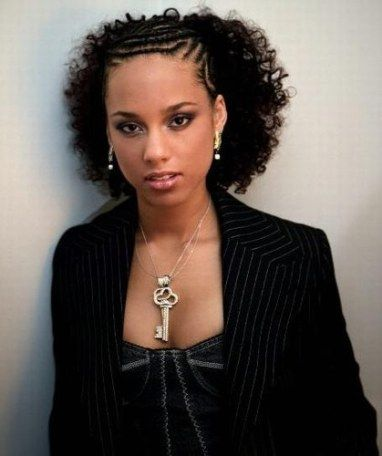 Magnificent 1000 Images About Alicia Keys On Pinterest Alicia Keys Alicia Hairstyle Inspiration Daily Dogsangcom