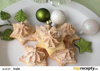 Vánoční hvězdičky recept - TopRecepty.cz