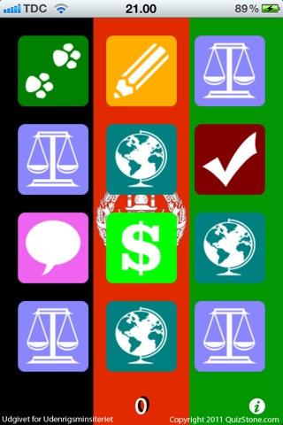 Afghanistan er gratis til Iphone. Man kan her teste sin viden om Afganistan konflikten og få de korrekte svar. man får spørgsmål indenfor forskellige kategorier.