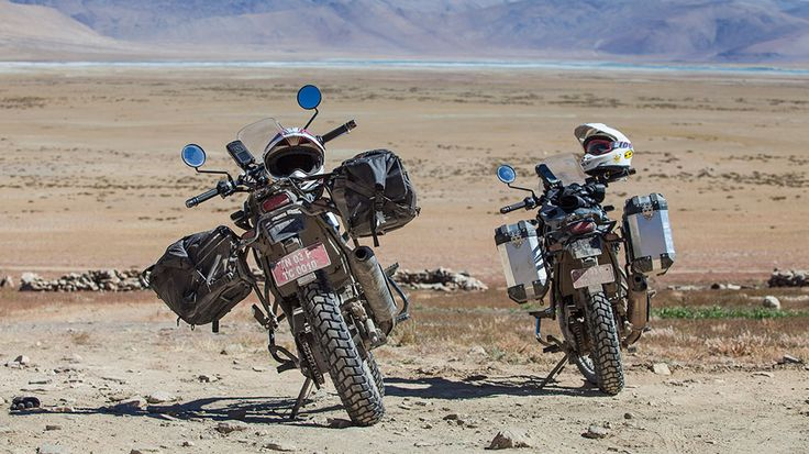 The Royal Enfield's New Himalayan Bike