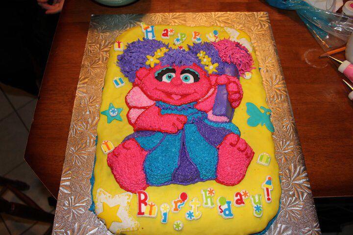 Abby Cadaby Cake