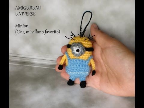 MINION! Tutorial Amigurumi. DIY Crochet (English Pattern Subtitles) - YouTube