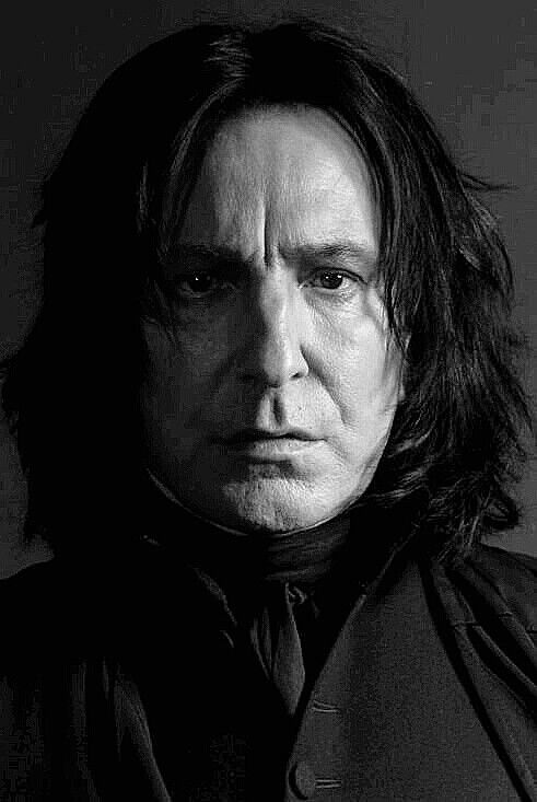 """Rest in peace Alan Rickman. You will always be one of my most favorite actors. """"Turn to page 394""""❤️ -- Alan Rickman as Professor Severus Snape ... the only actor who could truly bring that character to life. No one else would have done as well."""