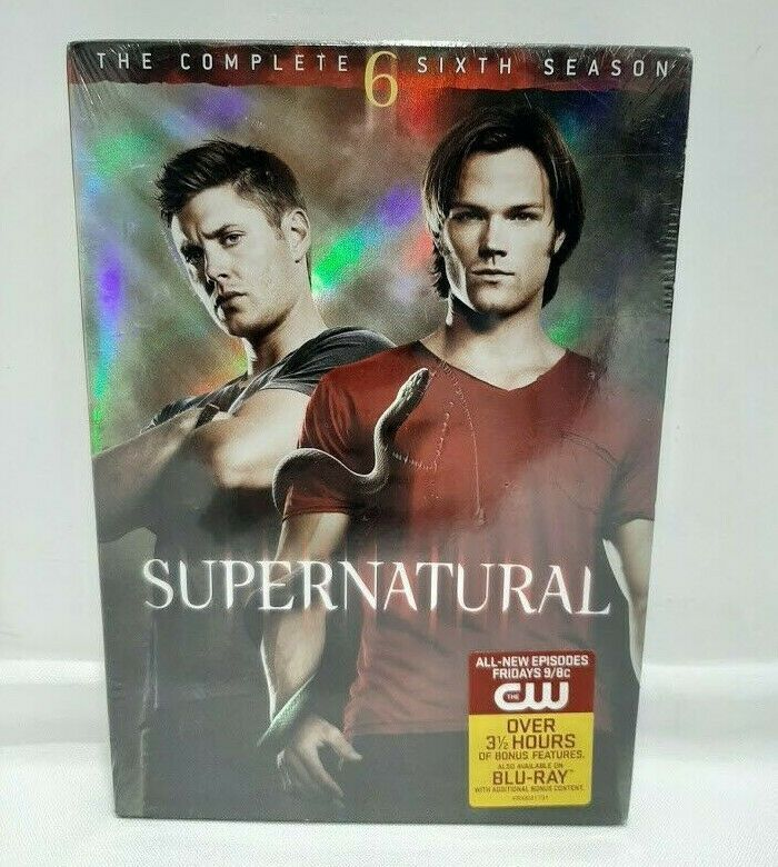 Supernatural The Complete Sixth Season Dvd 2011 6 Disc Set Free Shipping Warnerbros Finding Your Roots Things To Sell Emotions