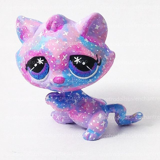 Gonna try doing a galaxy LPS custom that'll look something like this.
