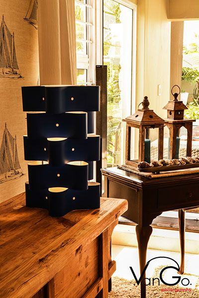 5 tier table lamp