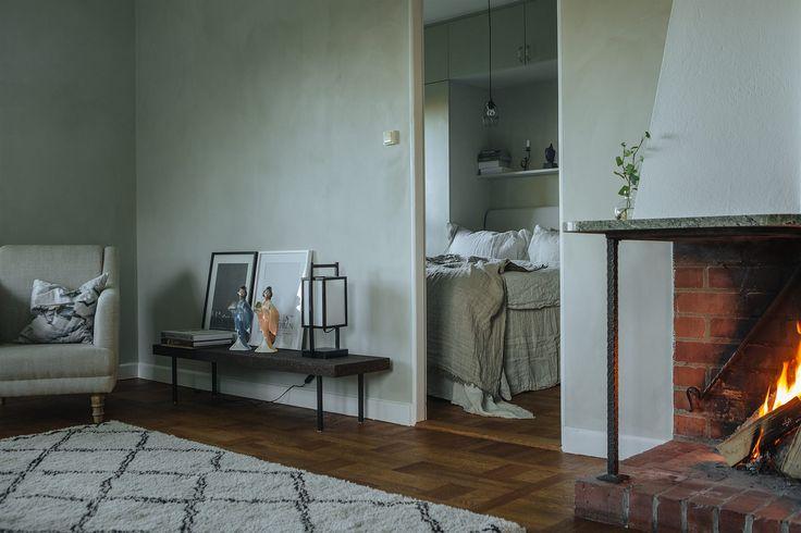 Fireplace. Livingroom. Scandinavian interior. Fantastic Frank Real Estate.
