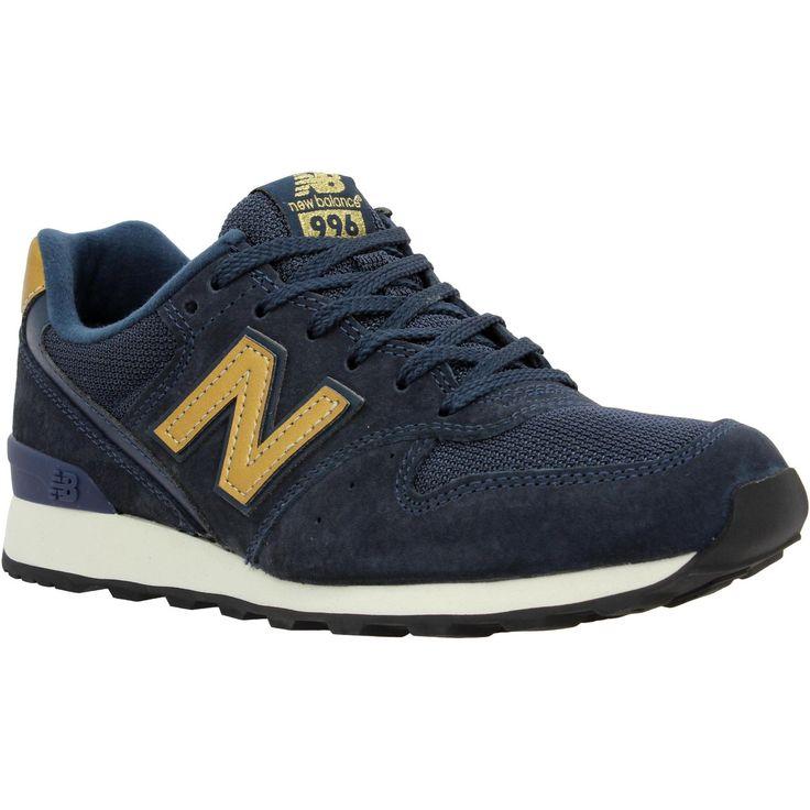 chaussure new balance wr996 dames bleu marine et or