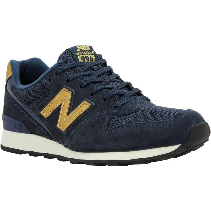New Balance Bleu Marine Et Or 996