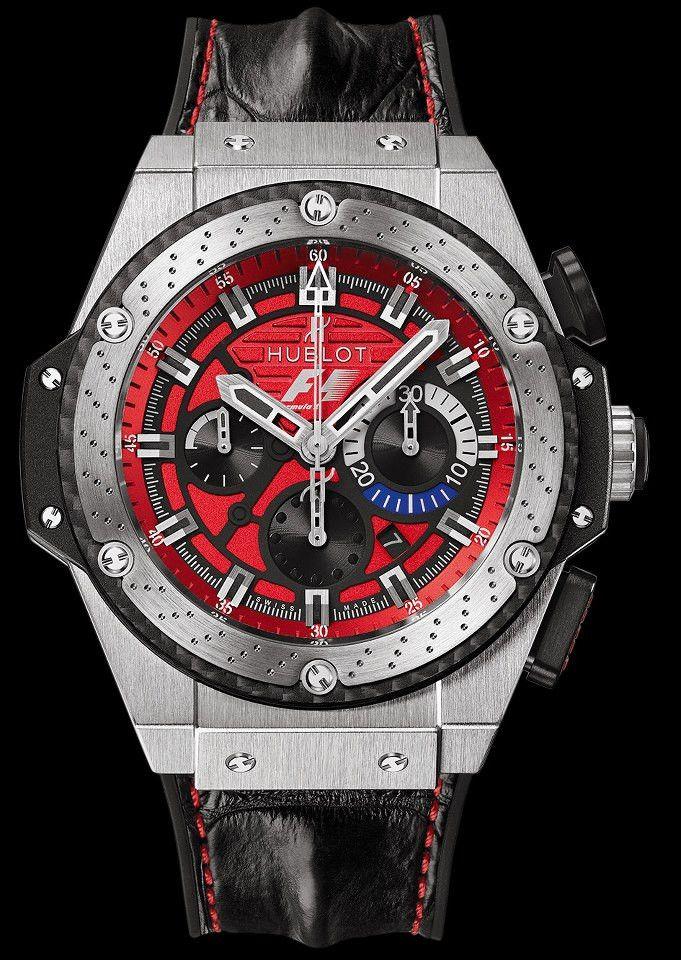 F1 KING POWER AUSTIN watch by Hublot on Presentwatch.com