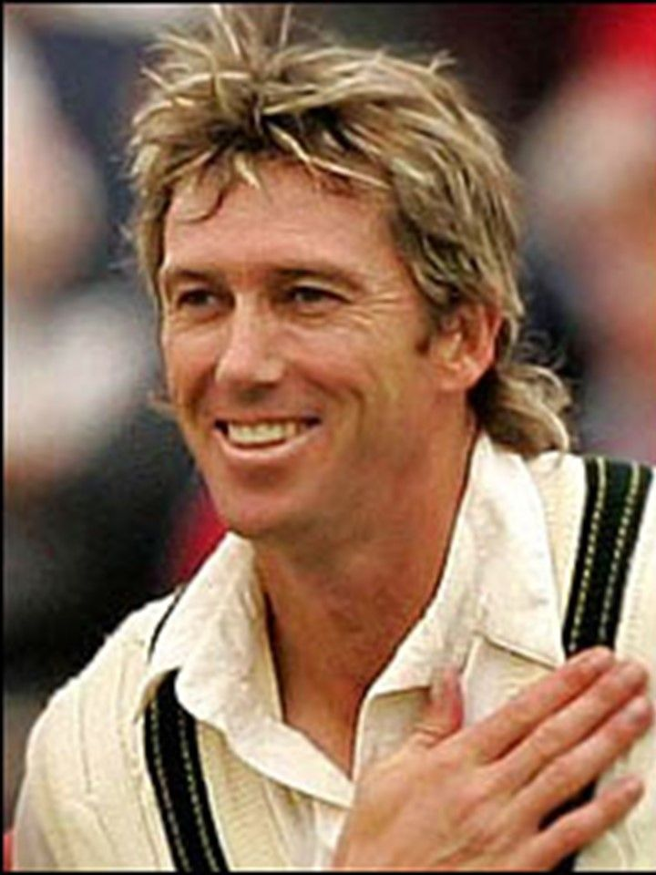 358-Glenn Donald McGrath is considered to be one of the greatest bowlers in cricket history. He holds the world record for highest number of Test wickets by a fast bowler, 563 at 21.64 in 124 Tests from 1993 to 2007. His last test was against England in Sydney in 2007 where he took a wicket with the last ball of his career He serves as President of the McGrath Foundation, a breast cancer support and education charity founded with his deceased first wife, Jane