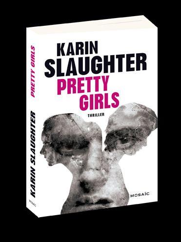 https://flic.kr/p/CU2SJ6 | Pretty Girls | Karin Slaughter Couverture publiée par Mosaïc © éodesign / laurent sescousse