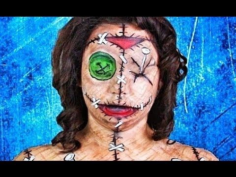 VOODOO DOLL MAKEUP TUTORIAL! - YouTube That's hardcore