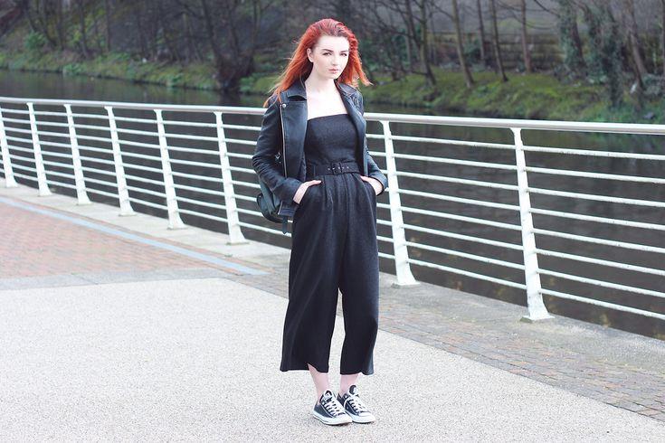 Hannah L. - Strapless Jumpsuit