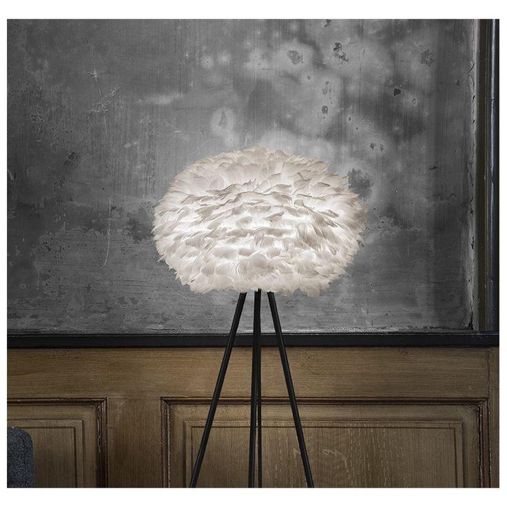 lampe plume medium sur pied cocooning en tant chic et sobre with lampe plume alinea. Black Bedroom Furniture Sets. Home Design Ideas