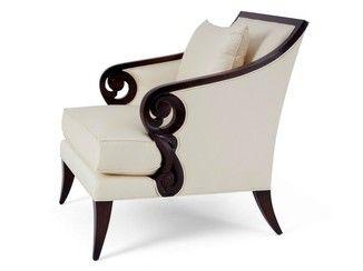 Elegant Deco Wooden Armchair With Armrests JUDE By Christopher Guy Design  Christopheru2026