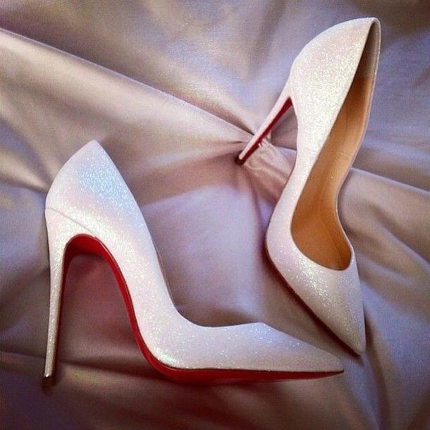 Louis Vuitton Wedding Shoes With Red Bottoms