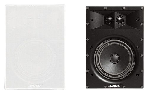 Bose® - Virtually Invisible® 891 In-Wall Speakers (Pair) - White