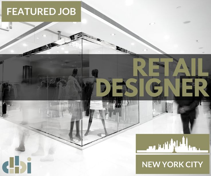 JOB ALERT We Are Looking For A Retail Designer With 4 6 Years Of