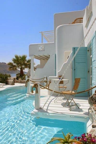 Kivotos Hotel, Mykonos - Greece Why Wait? Call #C.Fluker 866-680-3211 #travel #whywaittravels