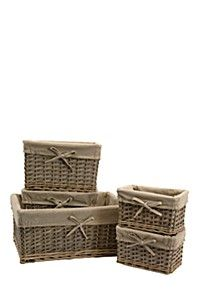 5 PIECE LINED WOOD UTILITY SET