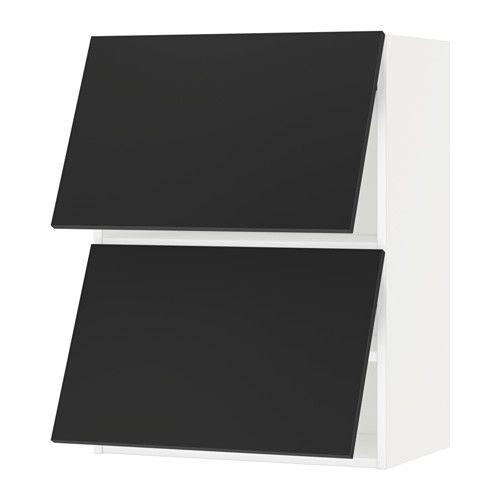 Best Metod Wall Cabinet Horizontal W 2 Doors White Uddevalla 400 x 300